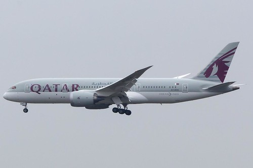A7-BCK Qatar Airways Boeing 787-800 Dreamliner at Heathrow