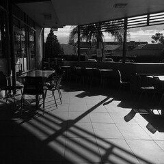 Breakfast of champion travelers. #mcdonalds #blackandwhite #nofilter #forbes #roadtrip