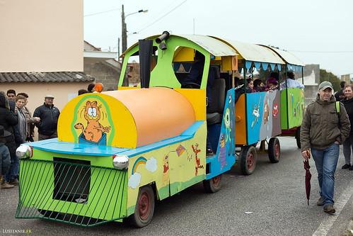 Un petit train pour promener les enfants