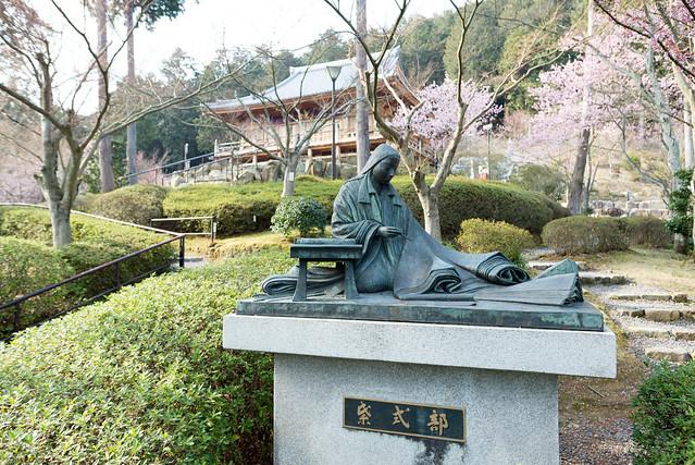 石山寺 紫式部像