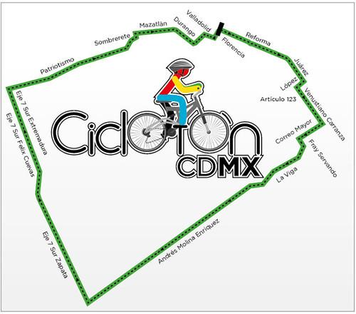 Nueva ruta Ciclotón México DF