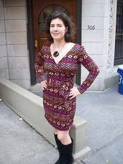 Another wrap dress