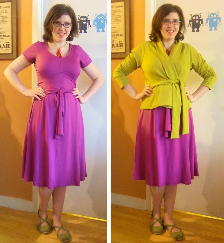 Me Made May 28: Finally Hemmed My Dress!