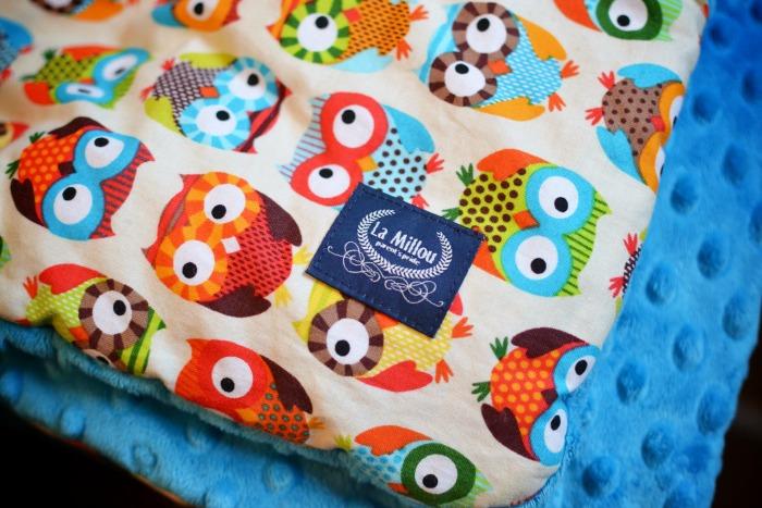 Fancy la millou toddler blanket