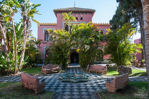 El Palacete de la Najarra, la oficina de turismo de Almuñécar