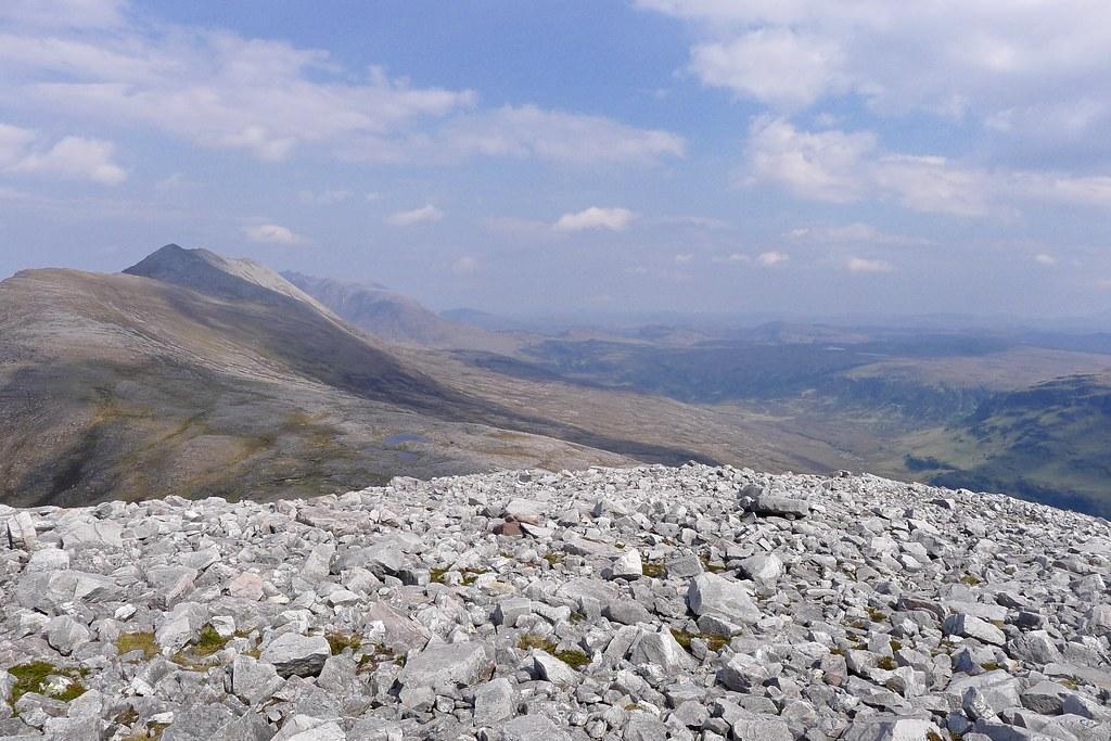 North from Sgurr Ban's north ridge