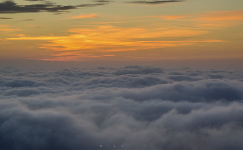 sunrise hongkong 香港 seaofclouds 雲海 日出 taimoshan 大帽山 willcho sonynex5n