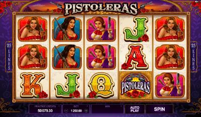 Pistoleras slot game online review