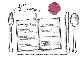 Conversano- Un libro prima di cena programma