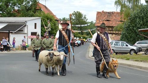 Festumzug 1175 Jahre Niederspier