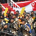 Gran Parada y Desfile Cívico Militar por el 194° Aniversario de la Independencia Nacional fue encabezada por el presidente Ollanta Humala