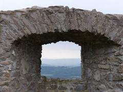 Durchblick auf der Festung Hohentwiel