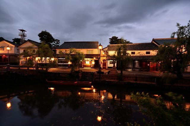 倉敷美観地区の夜景1
