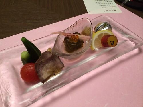 ホテル竜宮_夕食(前菜)
