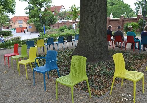 Bundesgartenschau - stilvoll sitzen