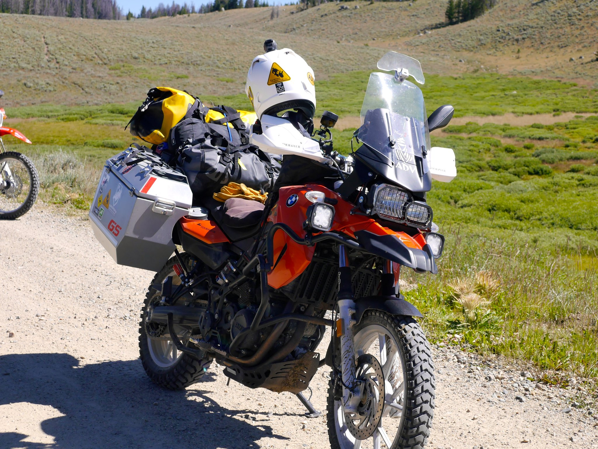 A Taste Of Continental Divide Ride Wyoming Cdr On 2011 Bmw F650gs