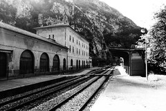 Saorge, Alpes-Maritimes (Fontan-Saorge train station)