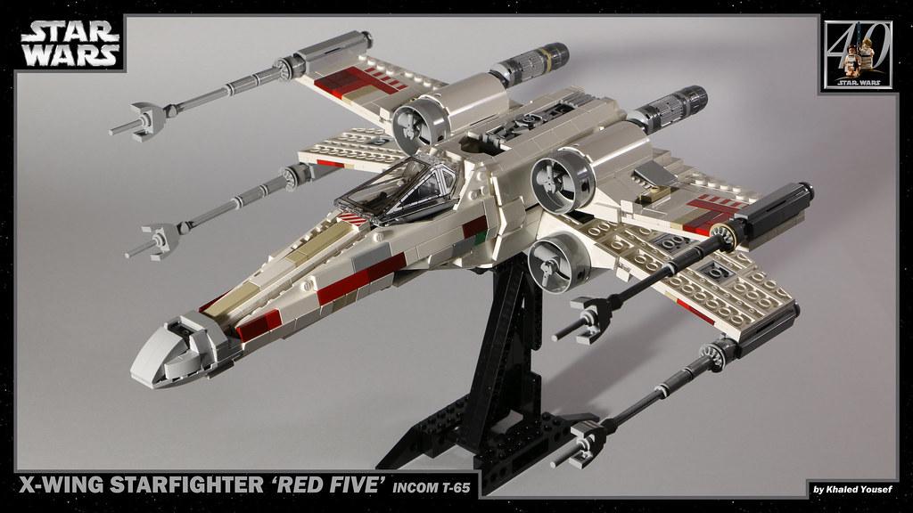 LEGO Star Wars - T-65 X-Wing 1 4K