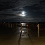 Moonlight over the harbor - av evisdotter