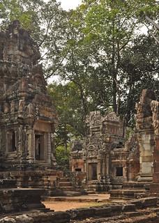 Cambodia - Angkor Thom - Chau Say Tevoda