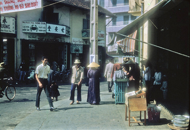 Street scene, Dalat