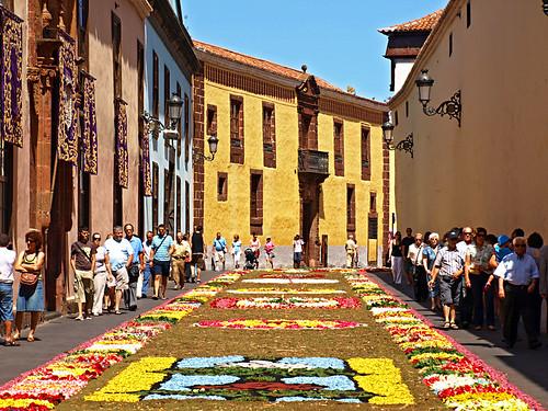 Corpus Christi, Flower Carpets, La Laguna, Tenerife