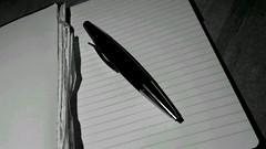 Ein Stift wie eine Rakete.