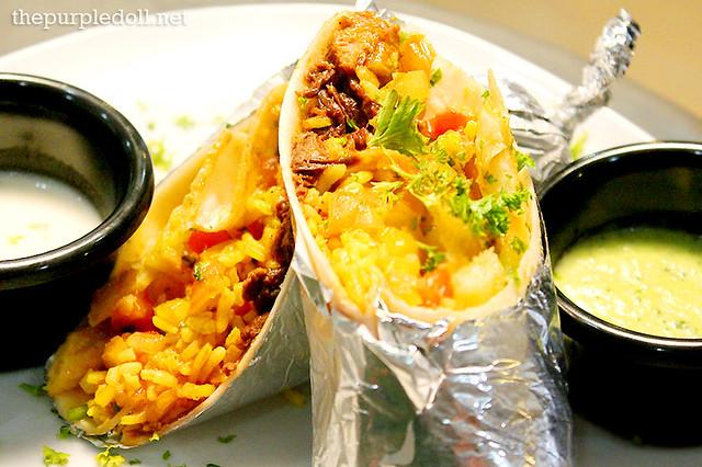 Silantro's Burrito P160