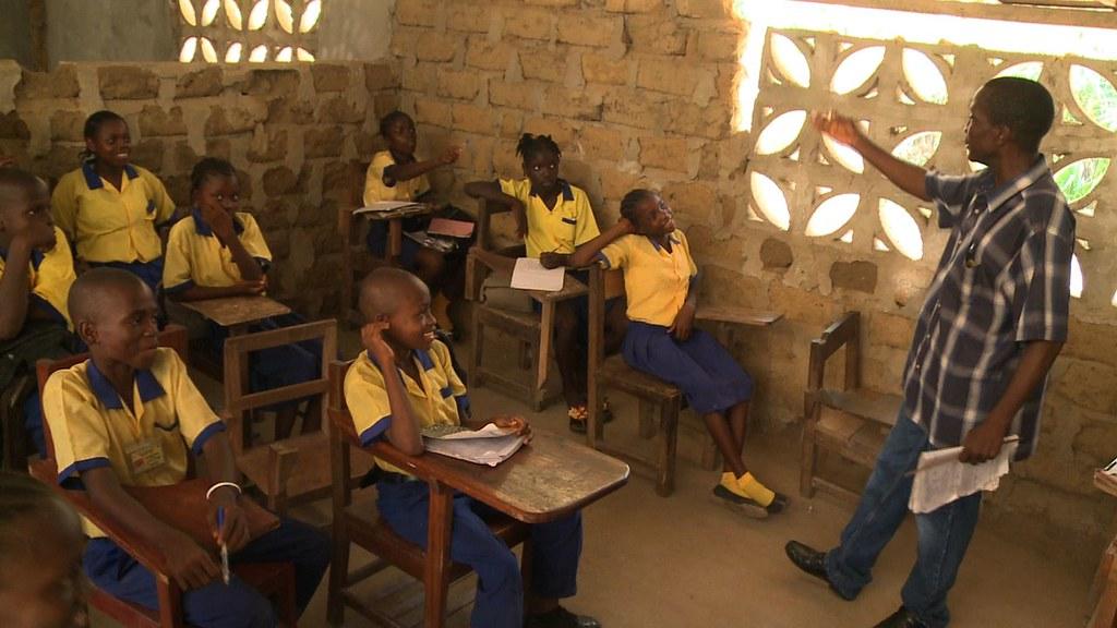 Classroom in Liberia