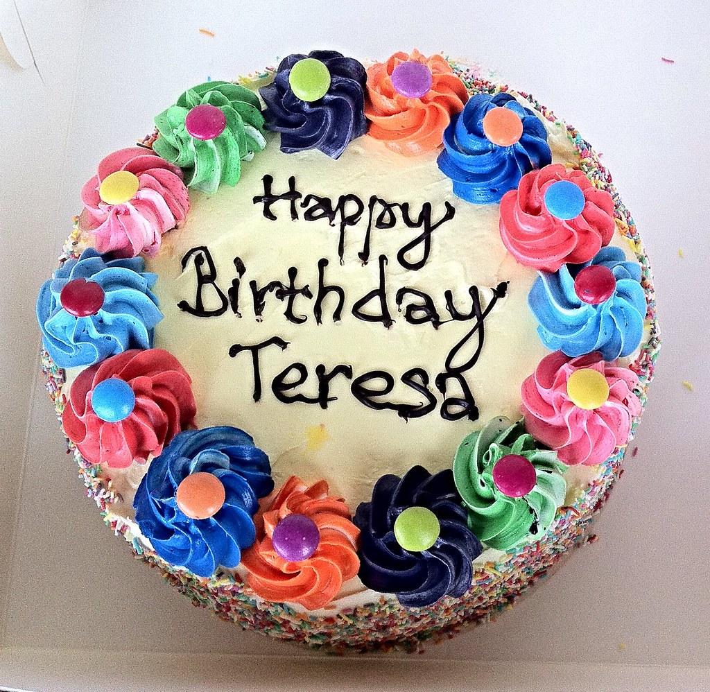 Happy Birthday Teresa Cake Images