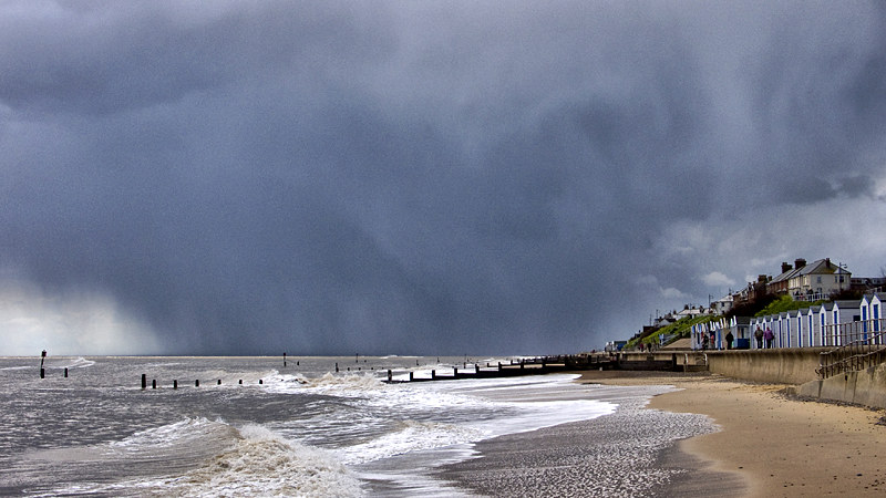 Looking South at Southwold