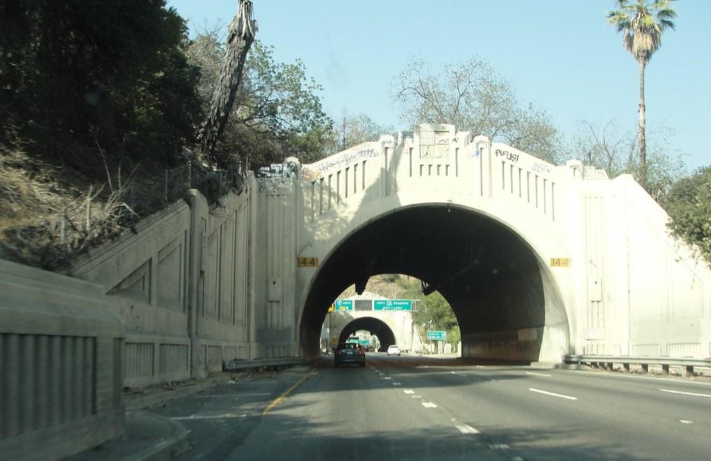 CA 110 NB (Arroyo Seco Parkway)