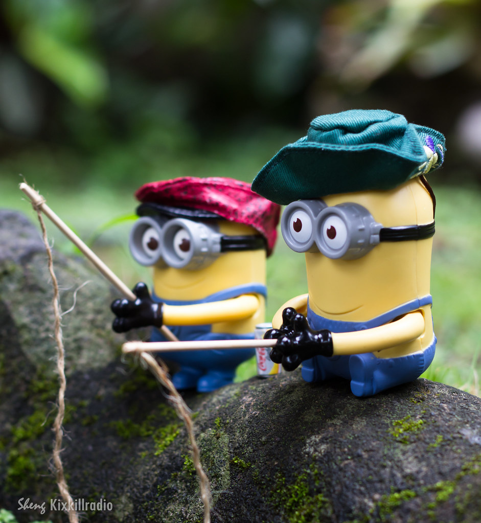 Toy photos minions from despicable me kixkillradio for How to go fishing