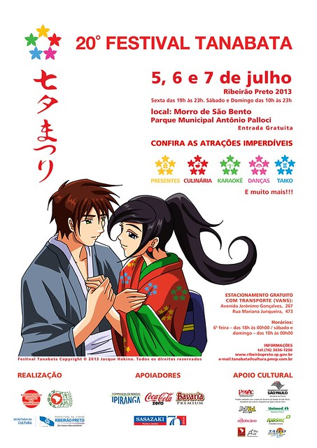 Tanabata Matsuri de Ribeirão Preto 2013