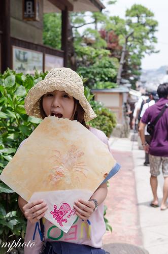 江之島 蝦餅