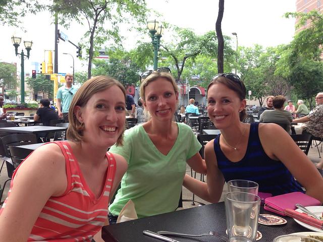 Erin, Diz and Julia at Republic