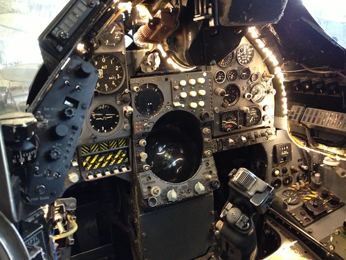 1971 British Aerospace Harrier Jet Cockpit