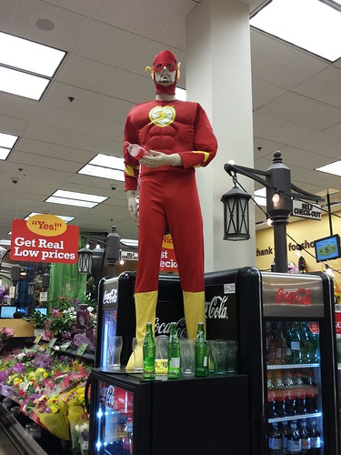 Flash at the Grocery Store