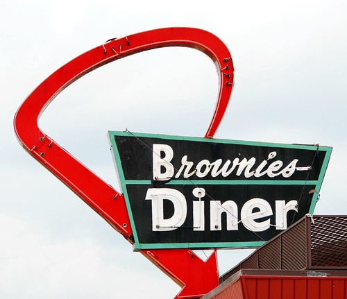 Brownie's Diner (closed) - US 12, Wayne, Michigan