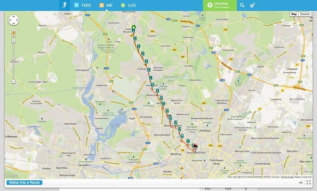 from Hohen Neuendorf to Gesundbrunnen