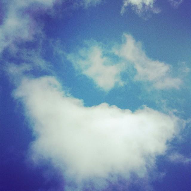 Sempre as nuvens