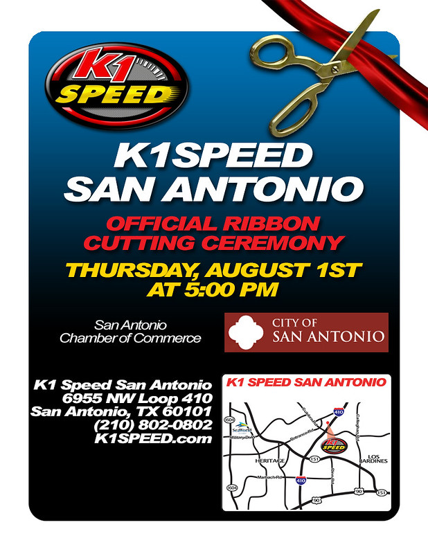 9396162240 5a137eba7b c K1 Speed San Antonio Official Ribbon Cutting Ceremony!
