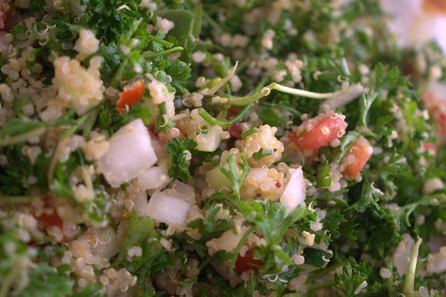 Food Yum: My newest favorite salad...tabbouleh