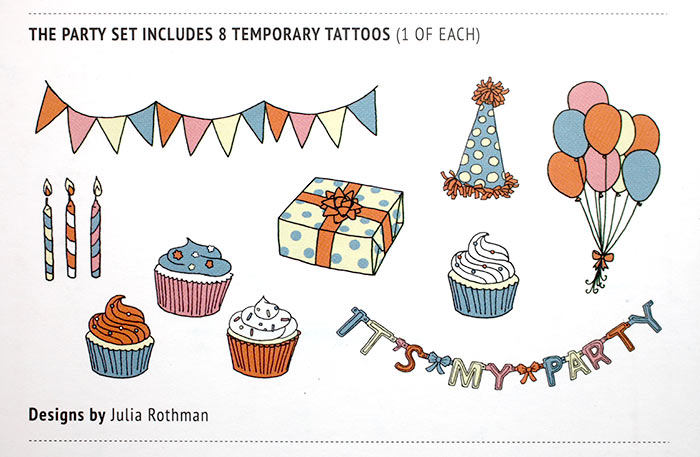 Tattly Party Set