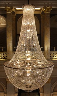 Chandelier, Grosvenor Hotel, London