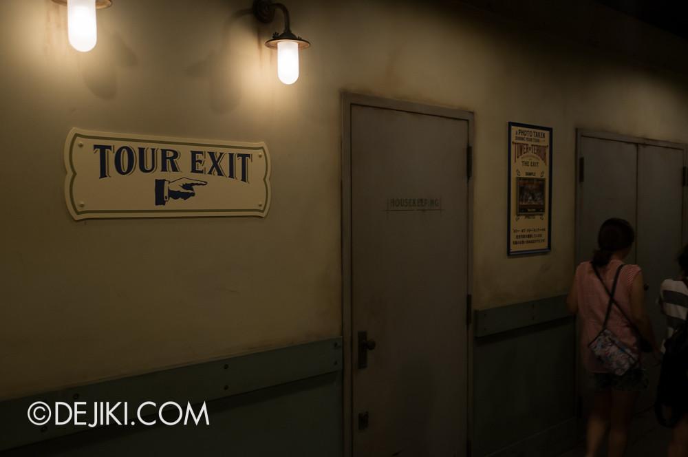 Tokyo DisneySea - Tower of Terror / tour exit