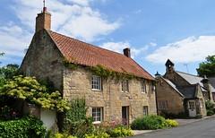 The Old School, Warkworth, comté de Northumberland, Angleterre, Royaume-Uni.
