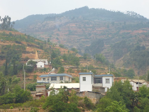 Yunnan13-Yuanyang-Kunming-Route (112)