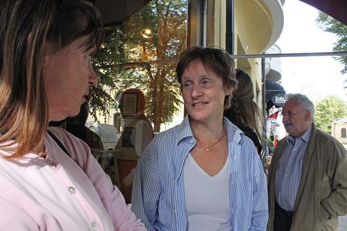 Linda Moberg och Titti Knutsson