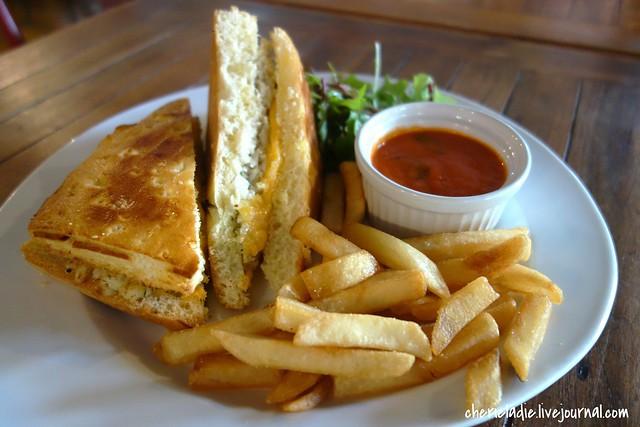 crabmeat sandwich
